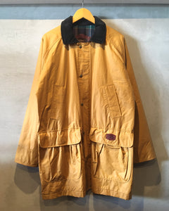 Woolrich-Nylon×Cotton coat-(size M)Made in U.S.A.