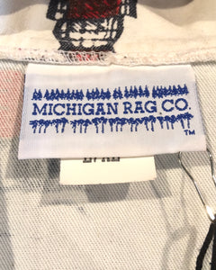 MICHIGAN RAG CO.-Cotton jacket-(size L/XL)Made in U.S.A.