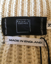画像をギャラリービューアに読み込む, Rated R CLOTHES-Tricolore knit-(size M)Made in ENGLAND