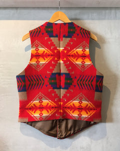 PENDLTON-vest-(size 38)Made in U.S.A.