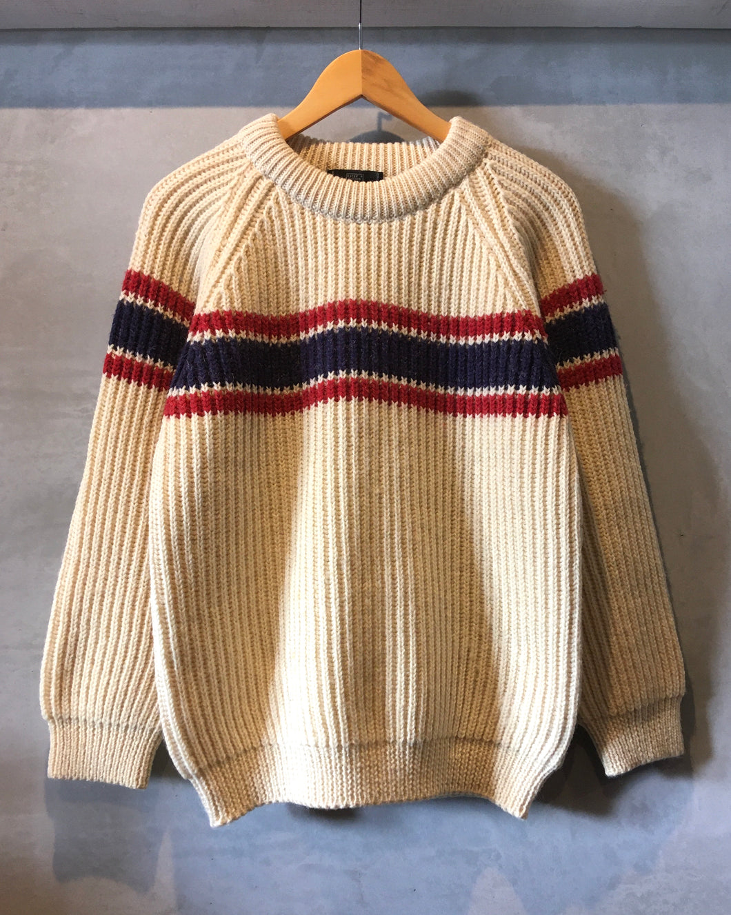 Rated R CLOTHES-Tricolore knit-(size M)Made in ENGLAND