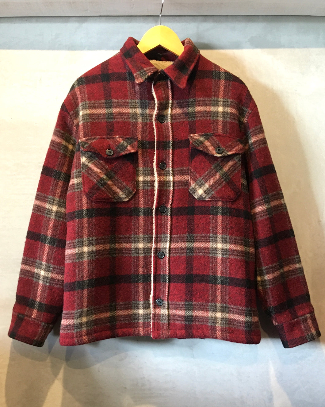 Woolrich-Wool×Boa jacket-(size M)Made in U.S.A.