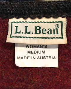 L.L.Bean-Wool jacket-(size M) Made in AUSTRIA