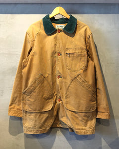 L.L.Bean-Hunting jacket-(size L)Made in U.S.A.
