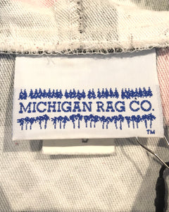 MICHIGAN RAG CO.-Cotton Parker-(size S)Made in U.S.A.