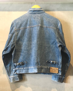 POLO Ralph Lauren-Denim jacket-(size M)Made in U.S.A.