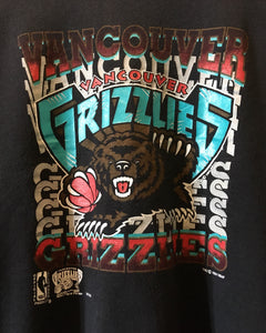 VANCOUVER GRIZZLIES-Sweat-(size L/G)-Made in CANADA