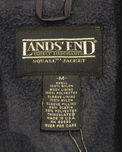 画像をギャラリービューアに読み込む, LANDS' END-Nylon×fleece jacket-(size M 10-12)Made in U.S.A.