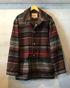 Woolrich-wool jacket-(size M)Made in U.S.A.