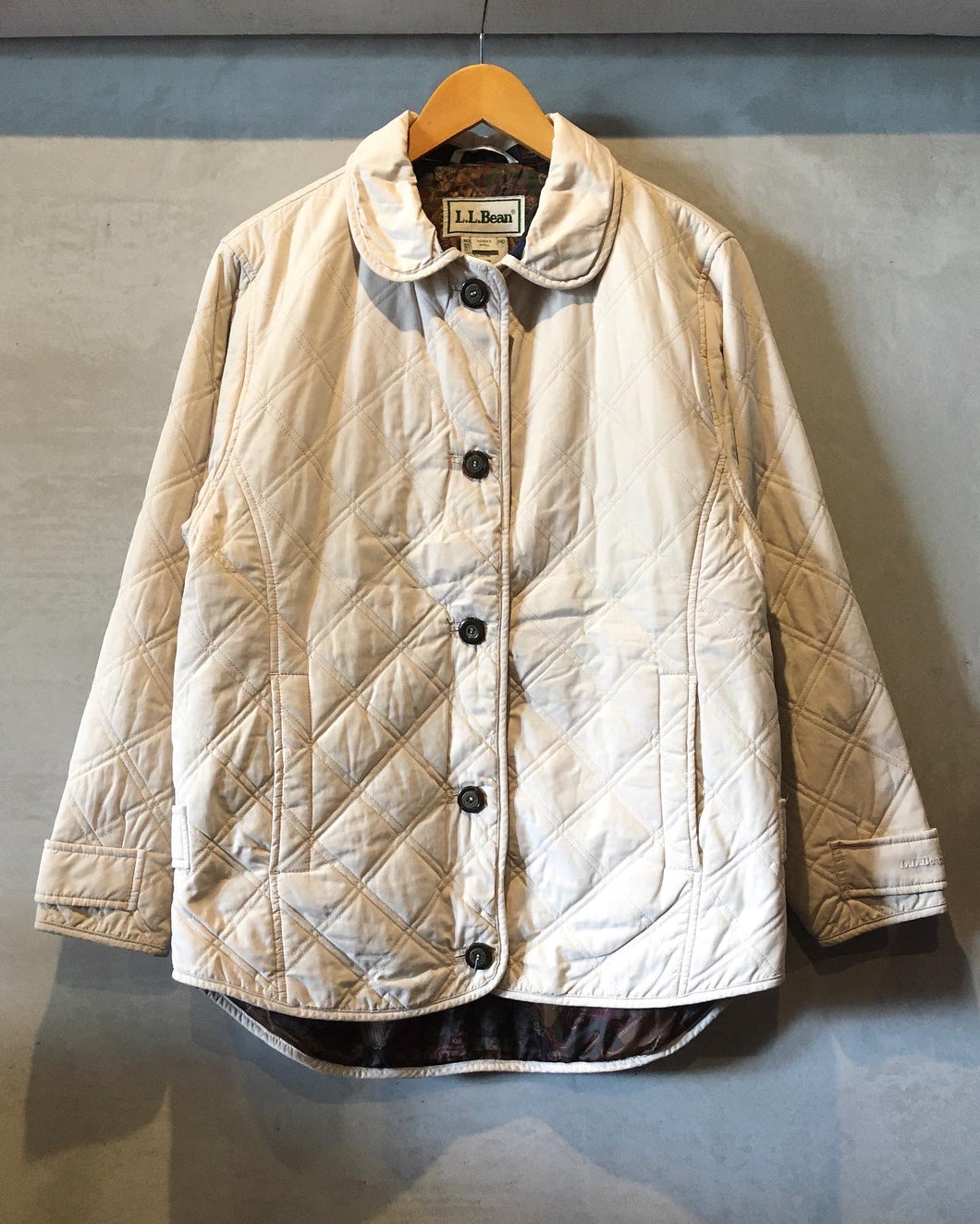 L.L.Bean-Quilting jacket-(size S)