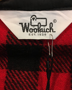 Woolrich-shirt Red-(size M) Made in U.S.A.