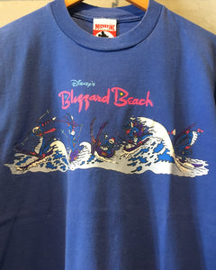MICKEY.INC( DISNEY)-T-shirt-(size L)Made in U.S.A.