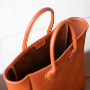 -George-Chapter vintage original bag-Brown(size M)