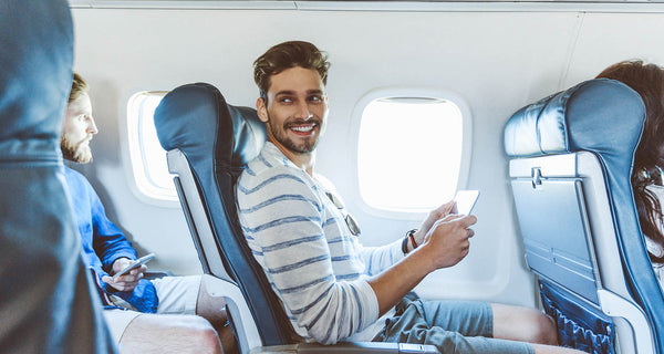 In-flight skin care tips
