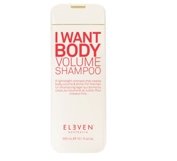 I Want Body Volume Shampoo by Eleven