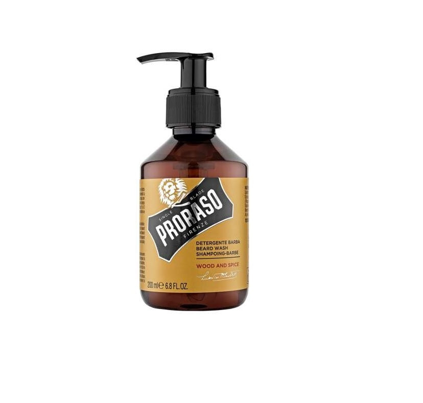 Proraso Beard Wash Wood & Spice by Proraso