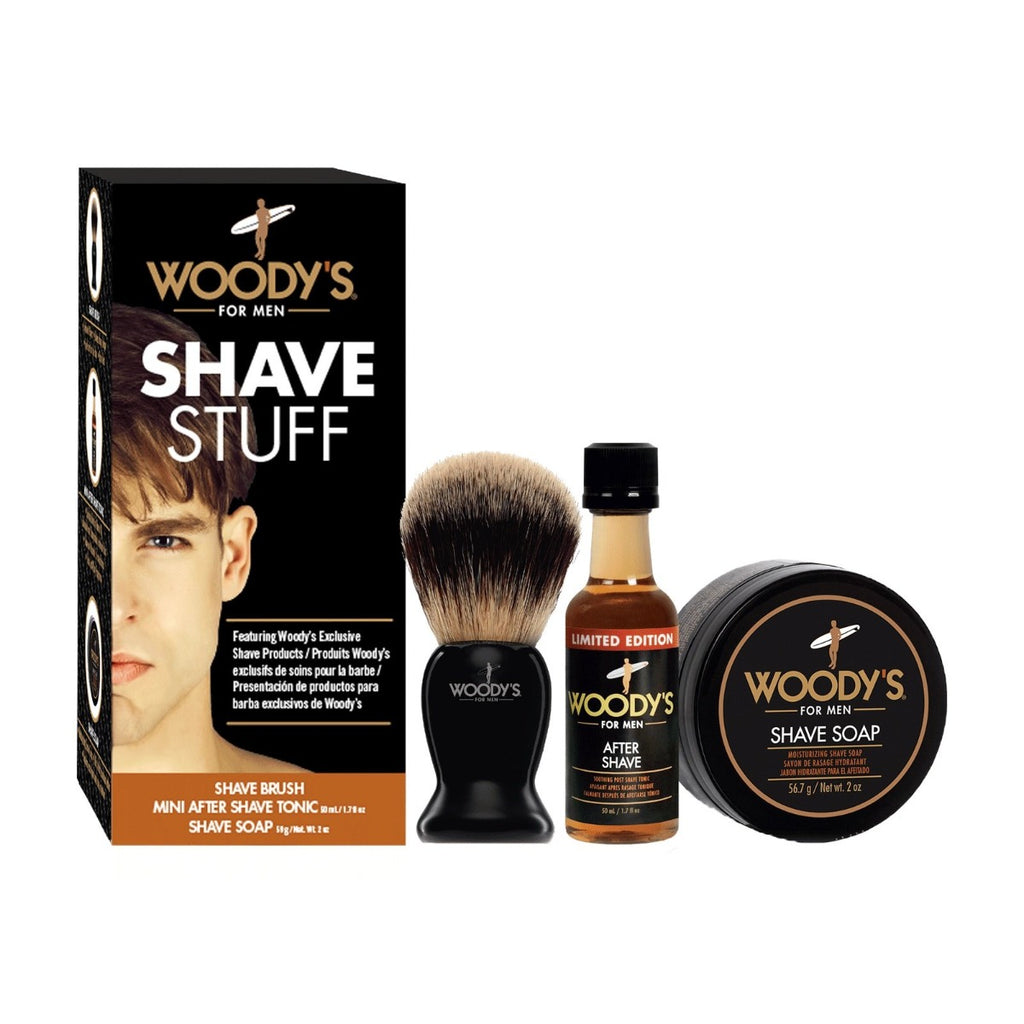 Shave Stuff Kit by Woody's