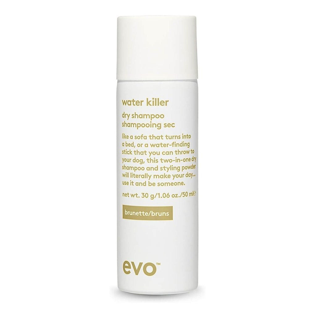 Water Killer Dry Shampoo Brunette by Evo