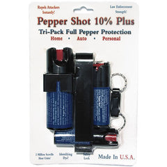 Tri-Pack Pepper Sprays