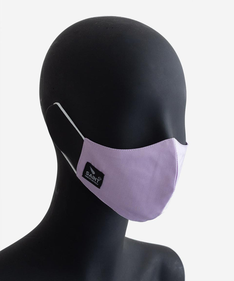 SA1NT Triple Layer Nano Mask - Lilac