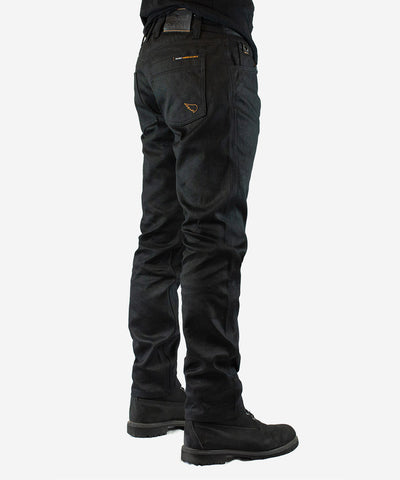 Unbreakable 6 Straight Jean - Black (coated)