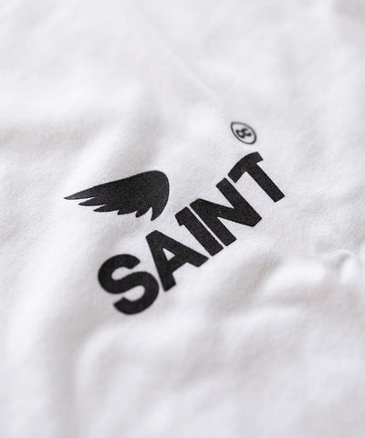 SA1NT Basic Long Sleeve Tee - White