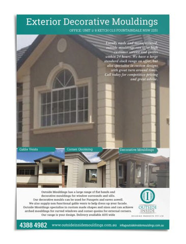 Exterior mouldings catalogue