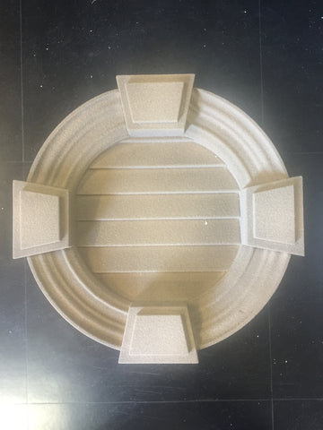 Decorative Gable Vent - Non Functional OIPHV10 OD493