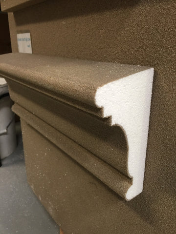 decorative exterior sill