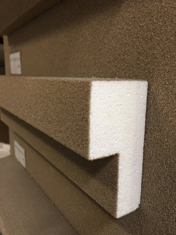 Decorative Exterior Moulding : 100x50 Profile OI365