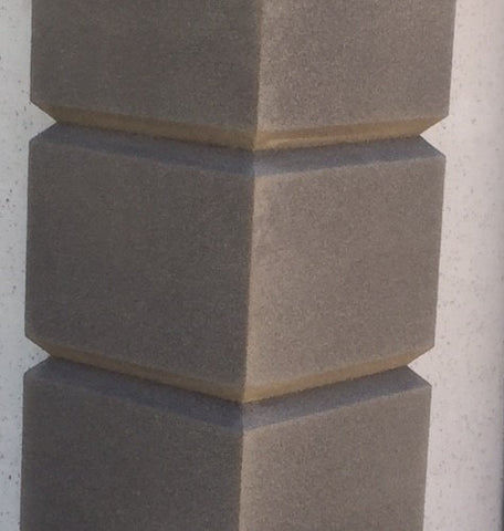 Corner Quoining 300x300x250x2500x40mm