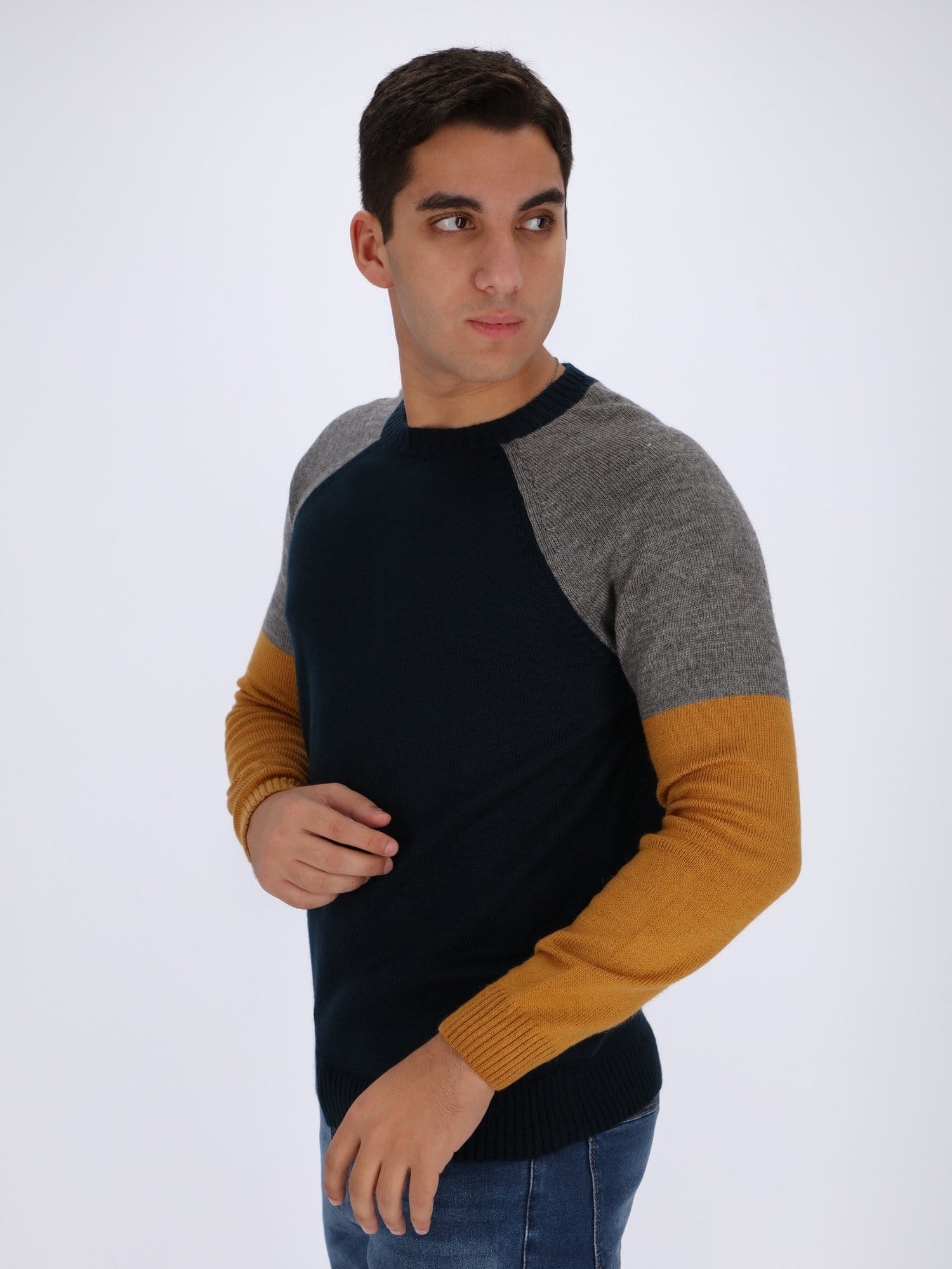 OR Knitwear Knit Sweater with Raglan Sleeves