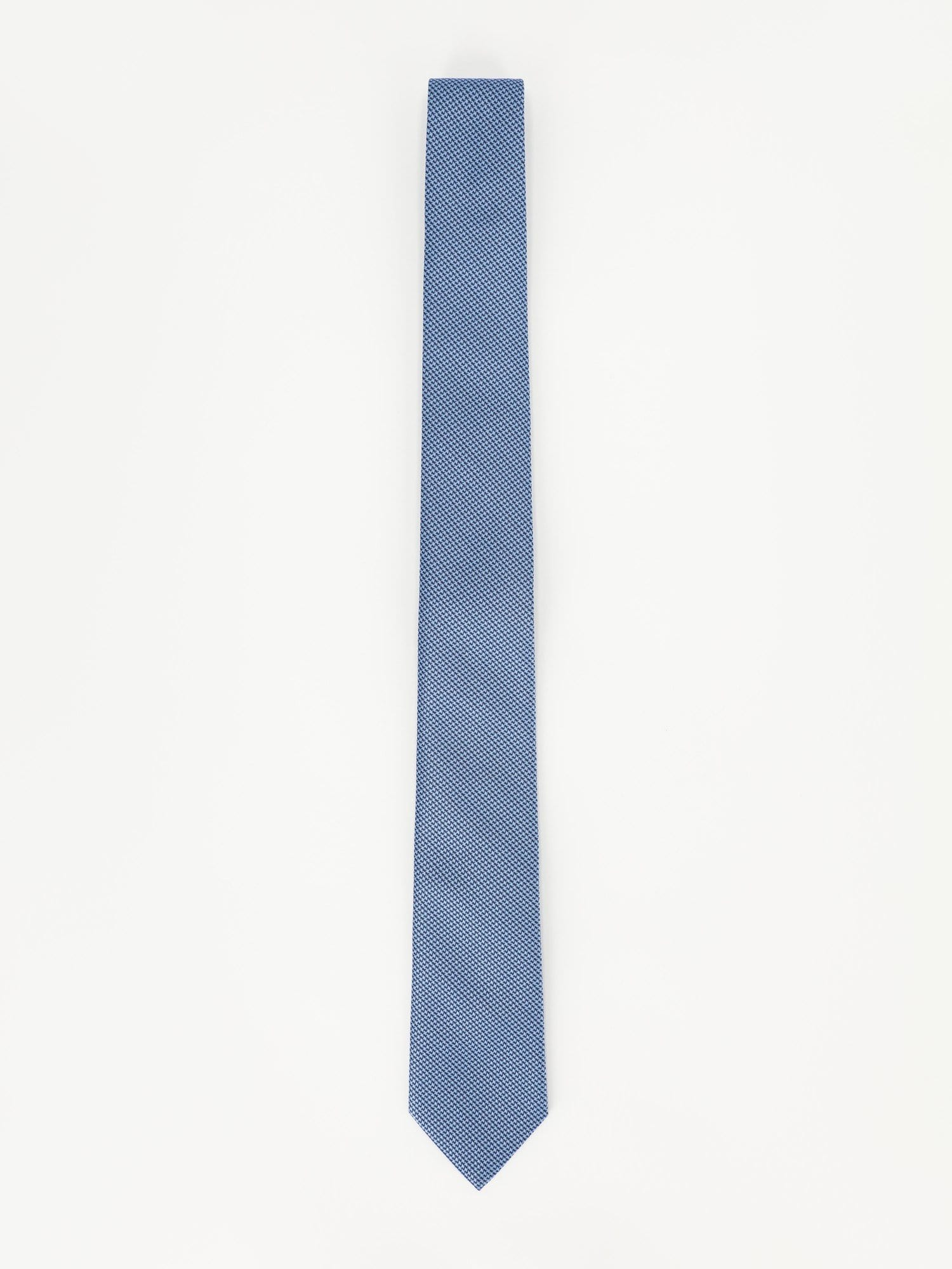 Daniel Hechter Other Accessories Indigo / One Size Texture Jacuared Necktie