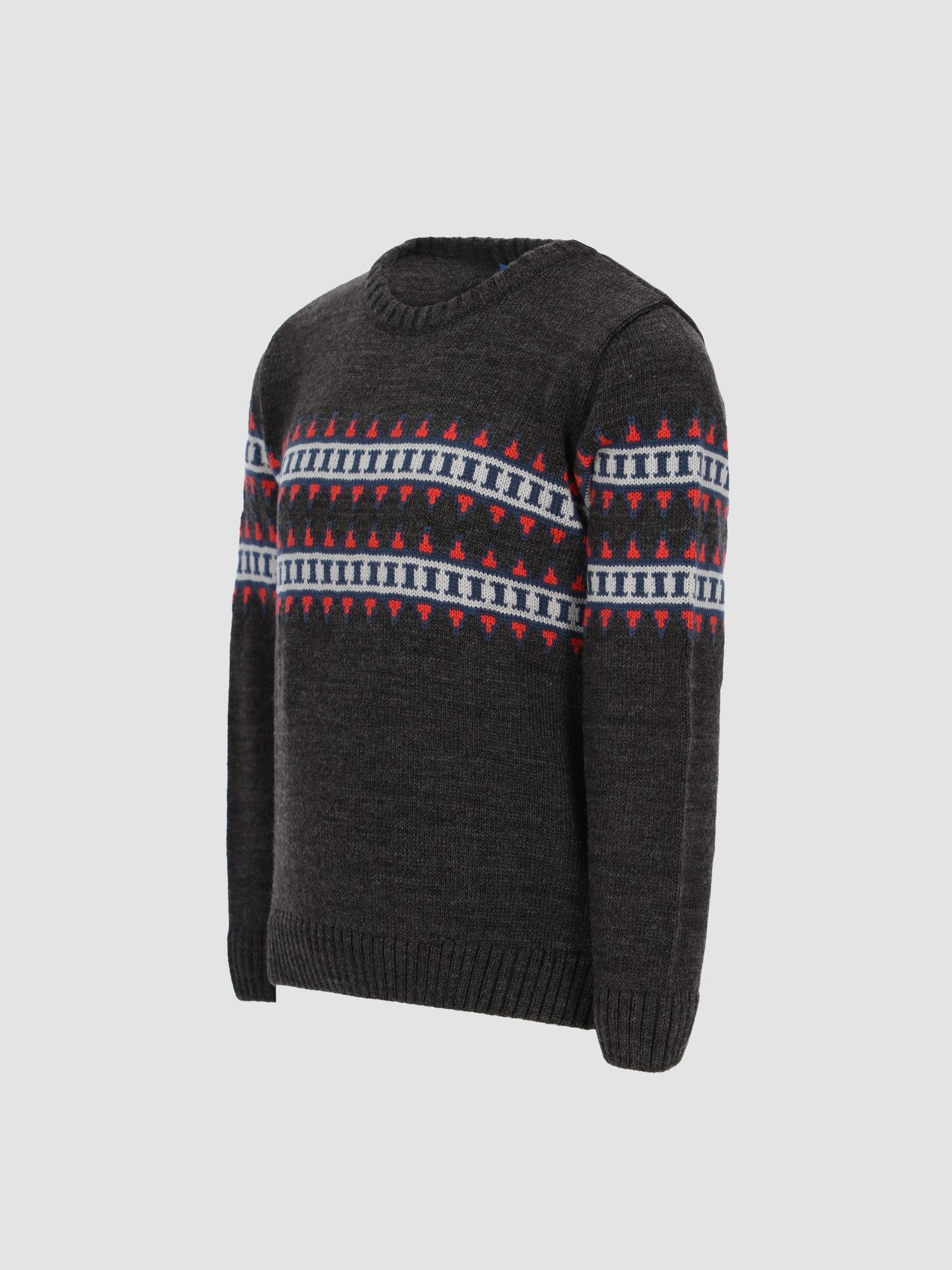 Kids Boys Knit Patterned Pullover