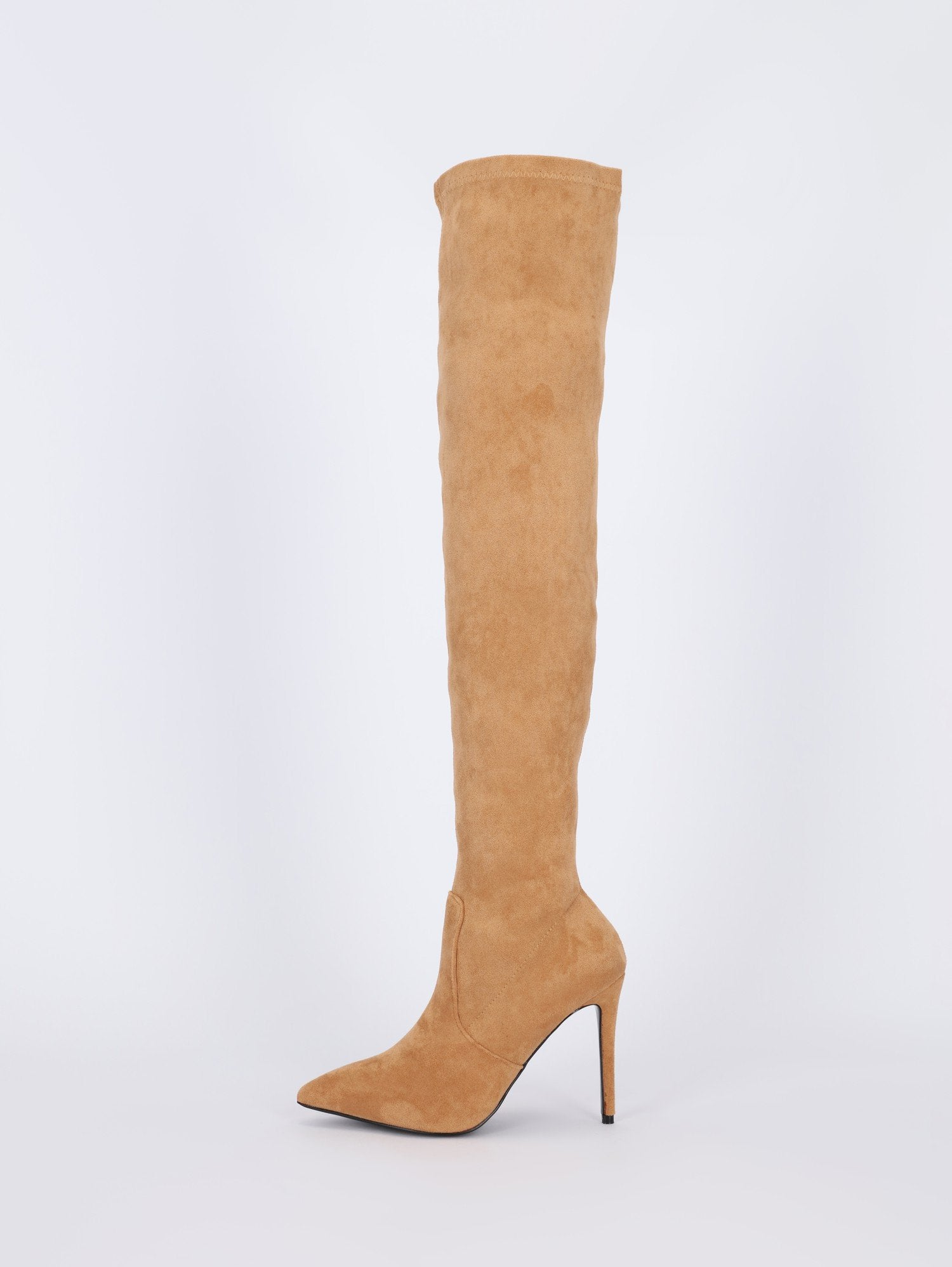 Above Knee Suede Leather Boots