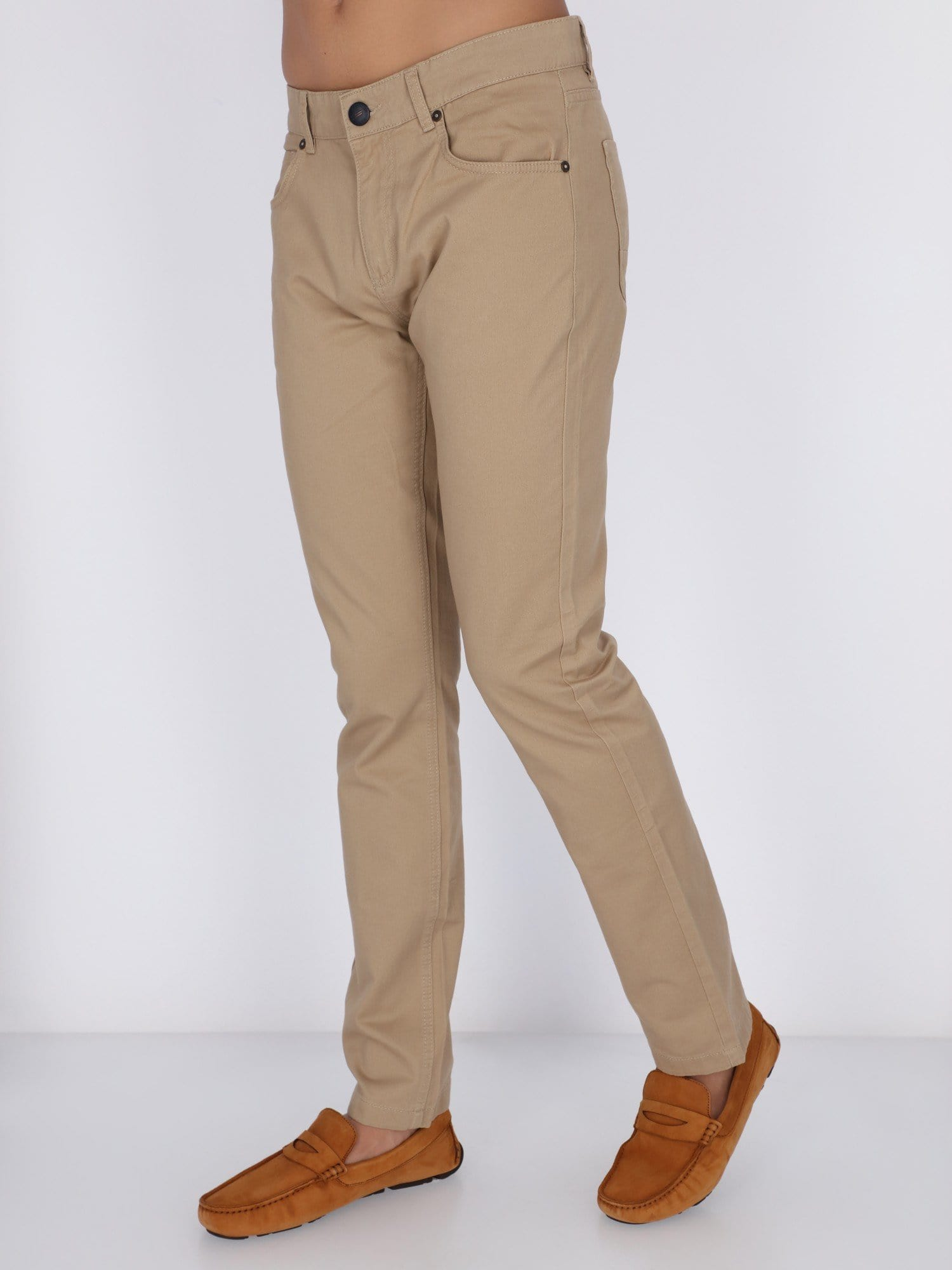Daniel Hechter Pants & Shorts Beige / 38 Basic Chino Pants
