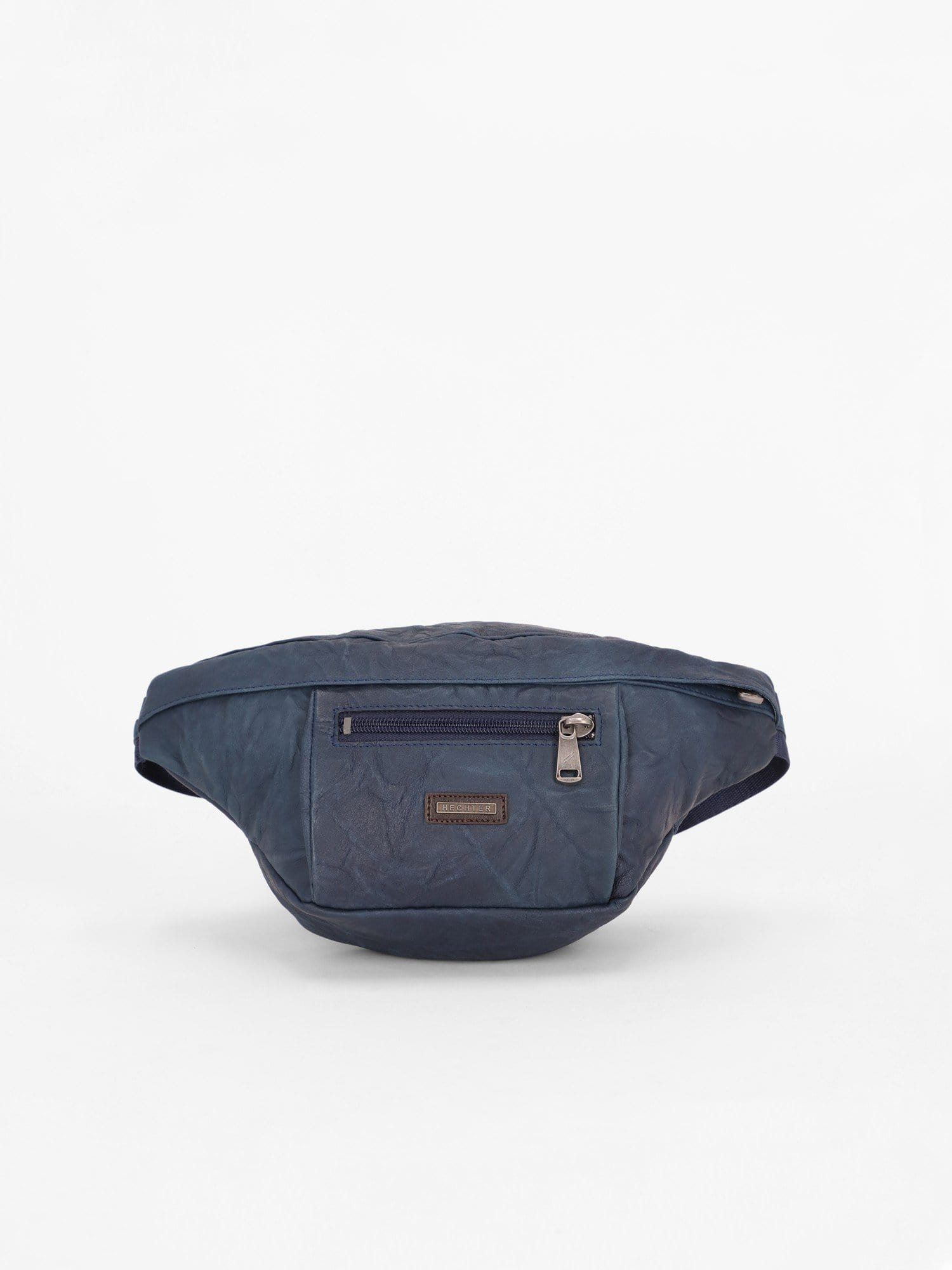 Daniel Hechter Other Accessories Navy / Os Leather Belt Bag with Washed Effect
