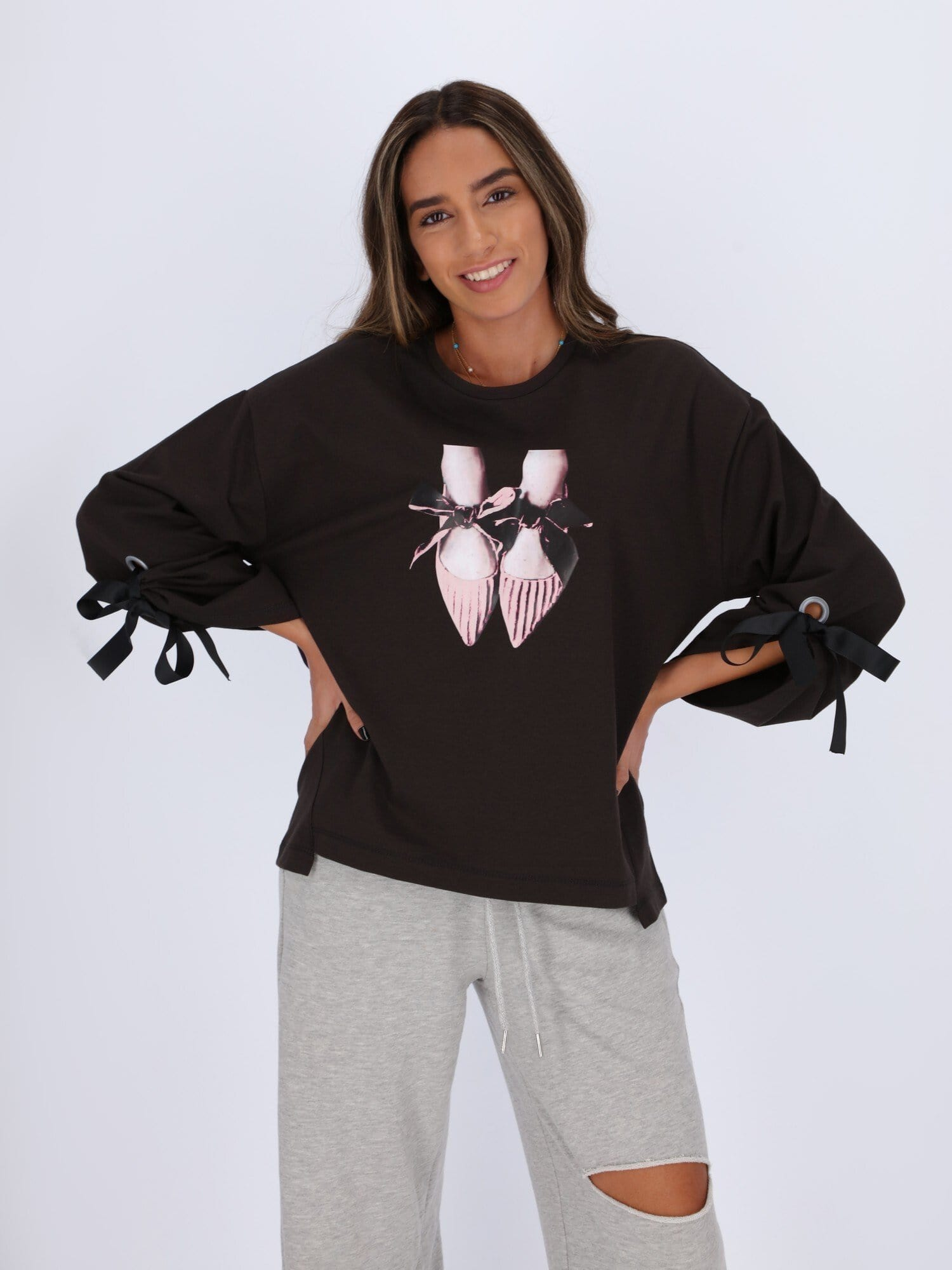OR Sweatshirts & Hoodies PIRATE BLACK / L Ballerina Sweatshirt
