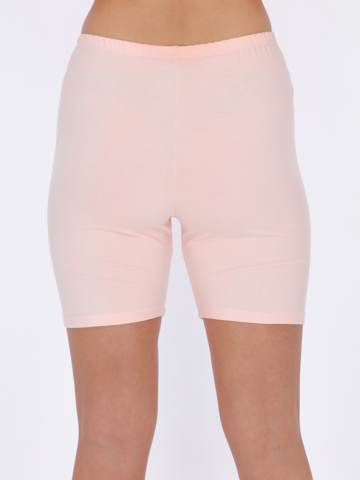 Basic Biker Cut Shorts