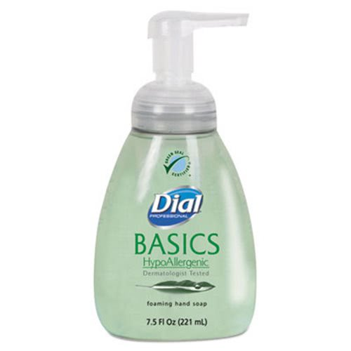 Dial Basics HypoAllergenic Foaming Lotion Soap, 8 Bottles