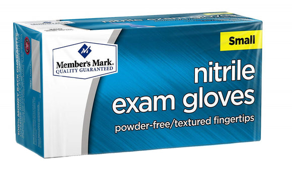 Member's Mark Powder Free Nitrile Exam Gloves - 200 Gloves/Box