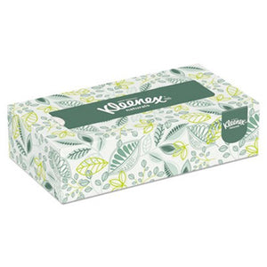 Kleenex 21601 Naturals 2-Ply Facial Tissues, 125 Sheets