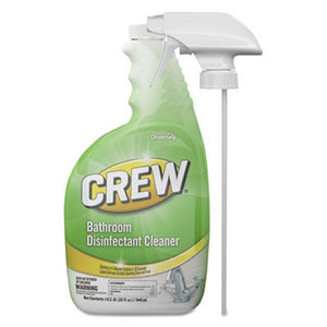 Crew Bathroom Disinfectant Cleaner, Floral Scent, 4 Bottles
