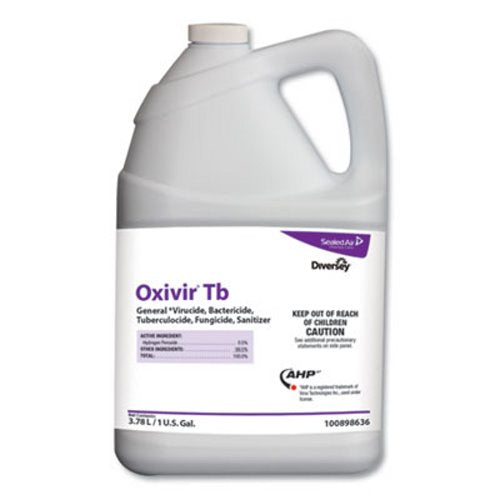 Diversey Oxivir TB, Cherry Almond, 3.78 L Container, 4 Bottles