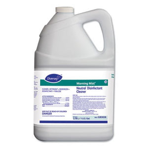 Morning Mist Neutral Disinfectant Cleaner, 4 Gallons
