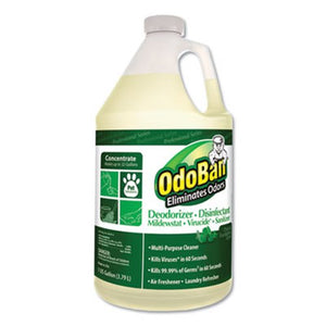 OdoBan Odor-Eliminator & Disinfectant, Gallon Concentrate, 4 Bottles