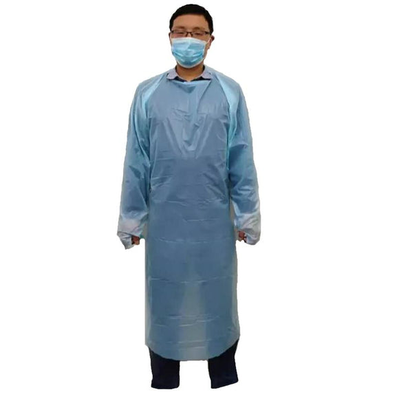 Disposable CPE Gown (12 Gowns)