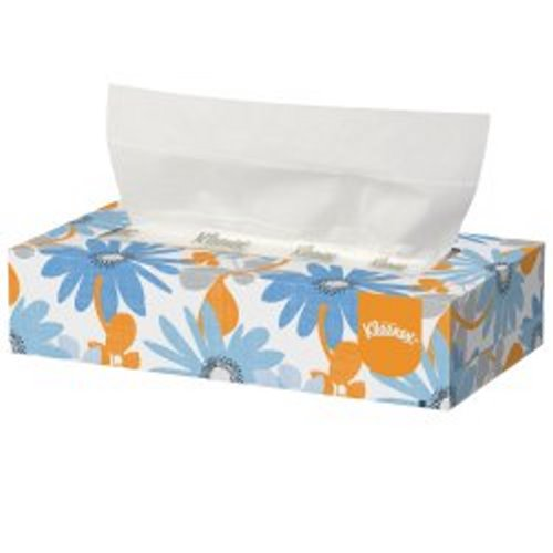 Kimberly Clark 21400, Kleenex® Facial Tissue, 2-Ply, White, 1/BX