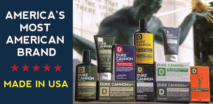 Duke Cannon Products Banner