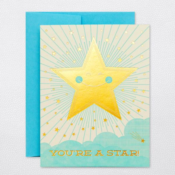 Greetings cards page 45 glyph youre a star m4hsunfo